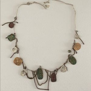 N2860 Coin Collector Necklace